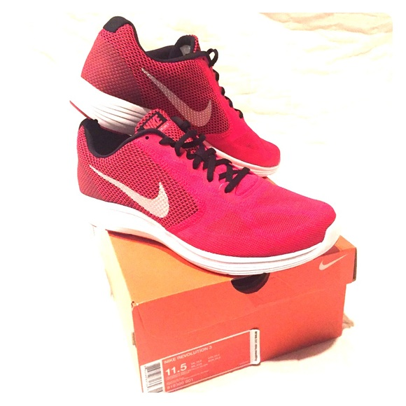 Nike Other - Nike Red Revolution Running Shoes - NWT